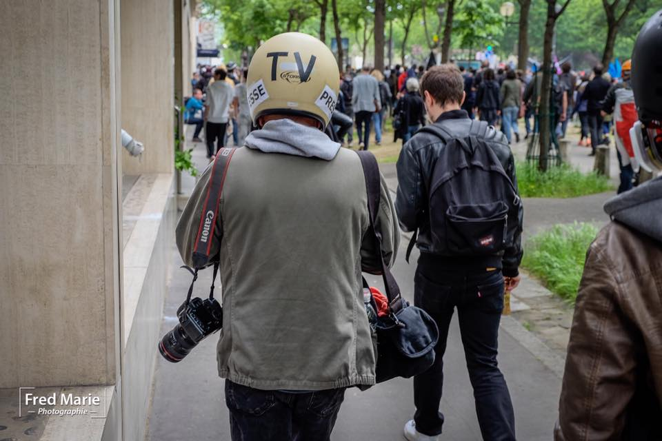 photographe de presse