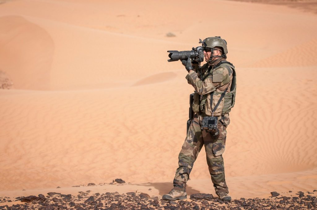 photographe de la défense
